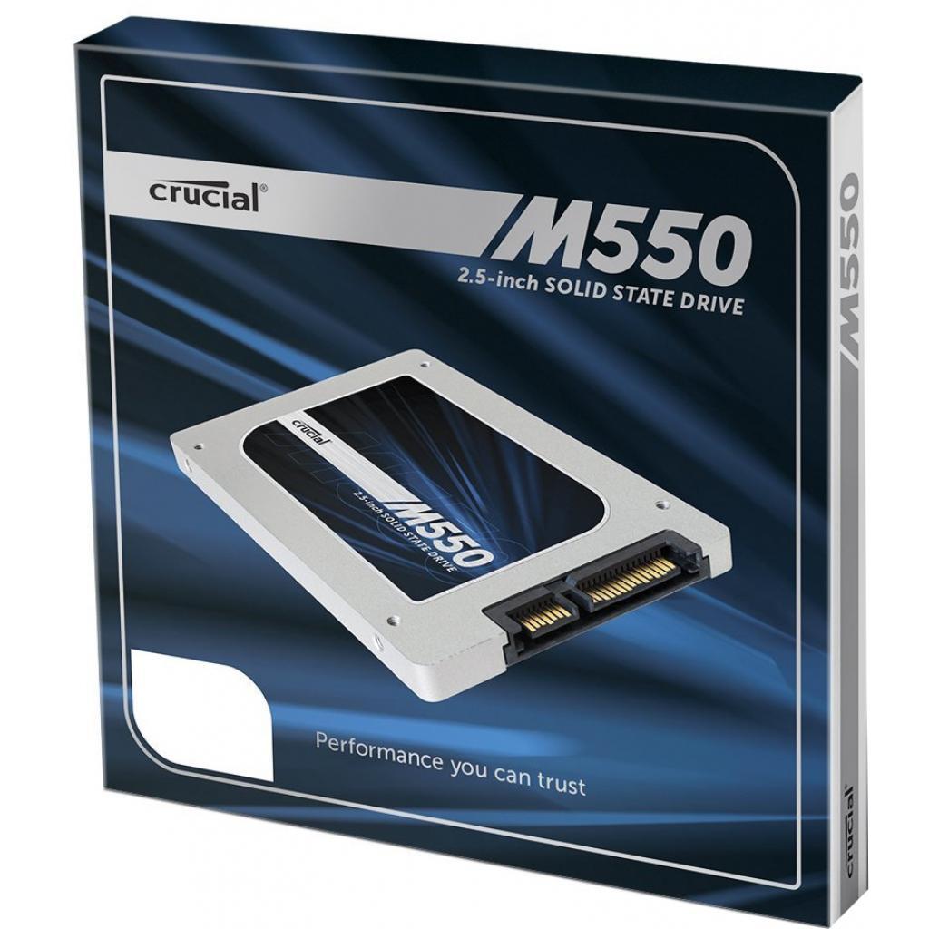 "Накопитель SSD 2.5"" 128GB MICRON (CT128M550SSD1) изображение 3"