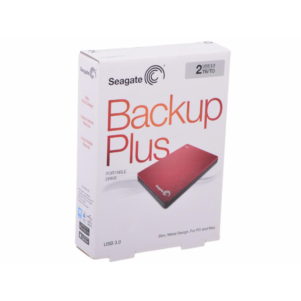 """Внешний жесткий диск 2.5"""" 2TB Seagate (STDR2000203) изображение 7"""