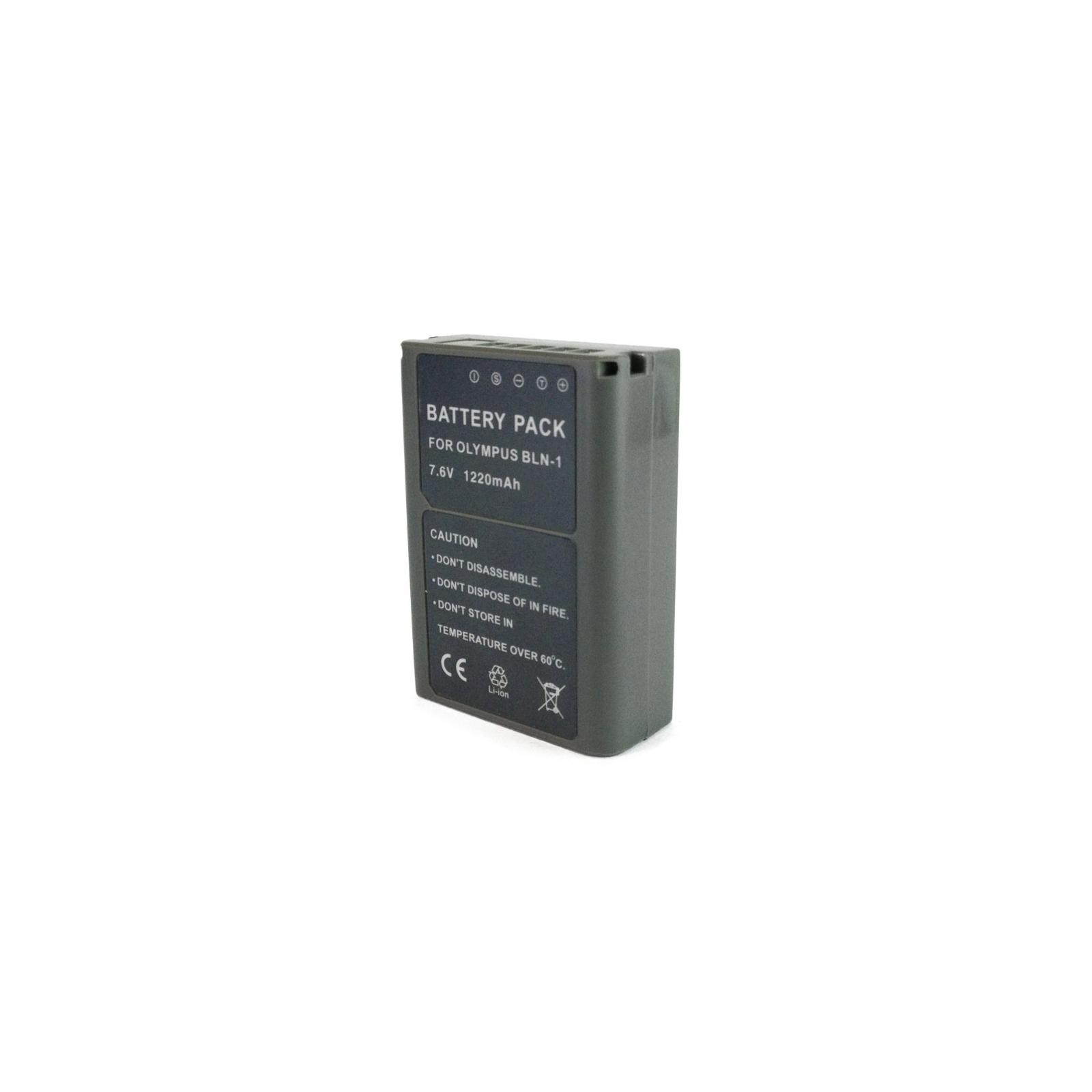 Аккумулятор к фото/видео EXTRADIGITAL Olympus PS-BLN1 (DV00DV1373) изображение 2