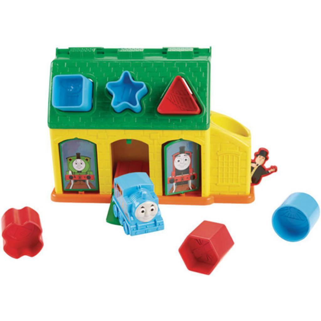 Развивающая игрушка Fisher-Price Сортер Станция Тидмаус Томас и друзья (CDN12) изображение 2