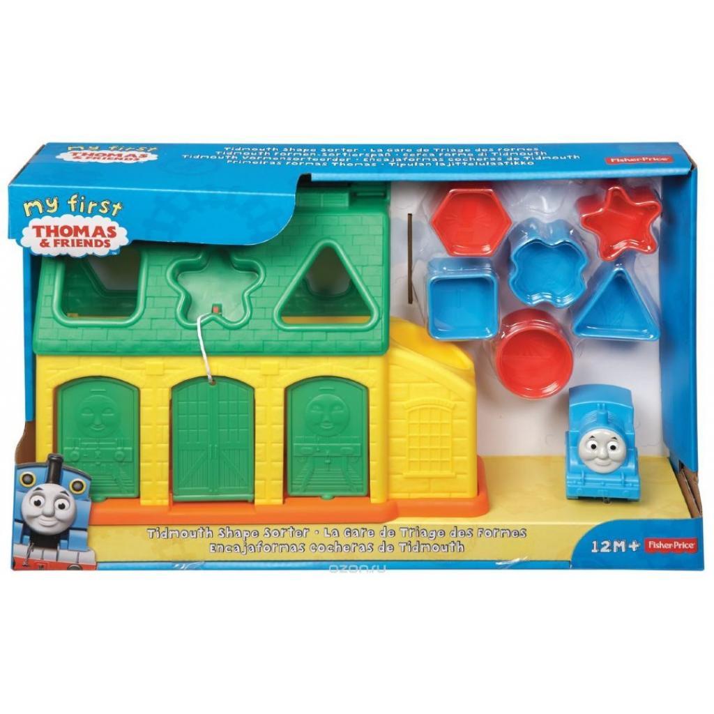 Развивающая игрушка Fisher-Price Сортер Станция Тидмаус Томас и друзья (CDN12)