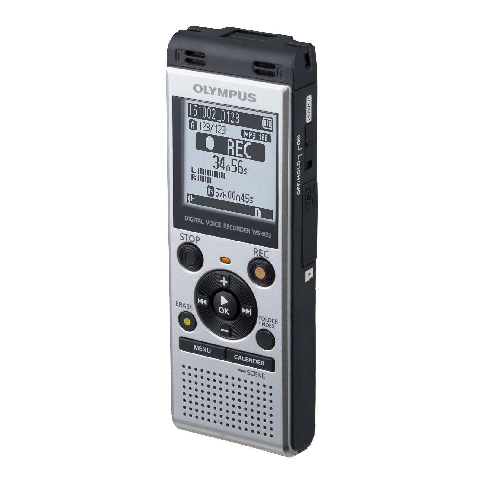 Цифровой диктофон OLYMPUS WS-852 4GB Silver (V415121SE000) изображение 4