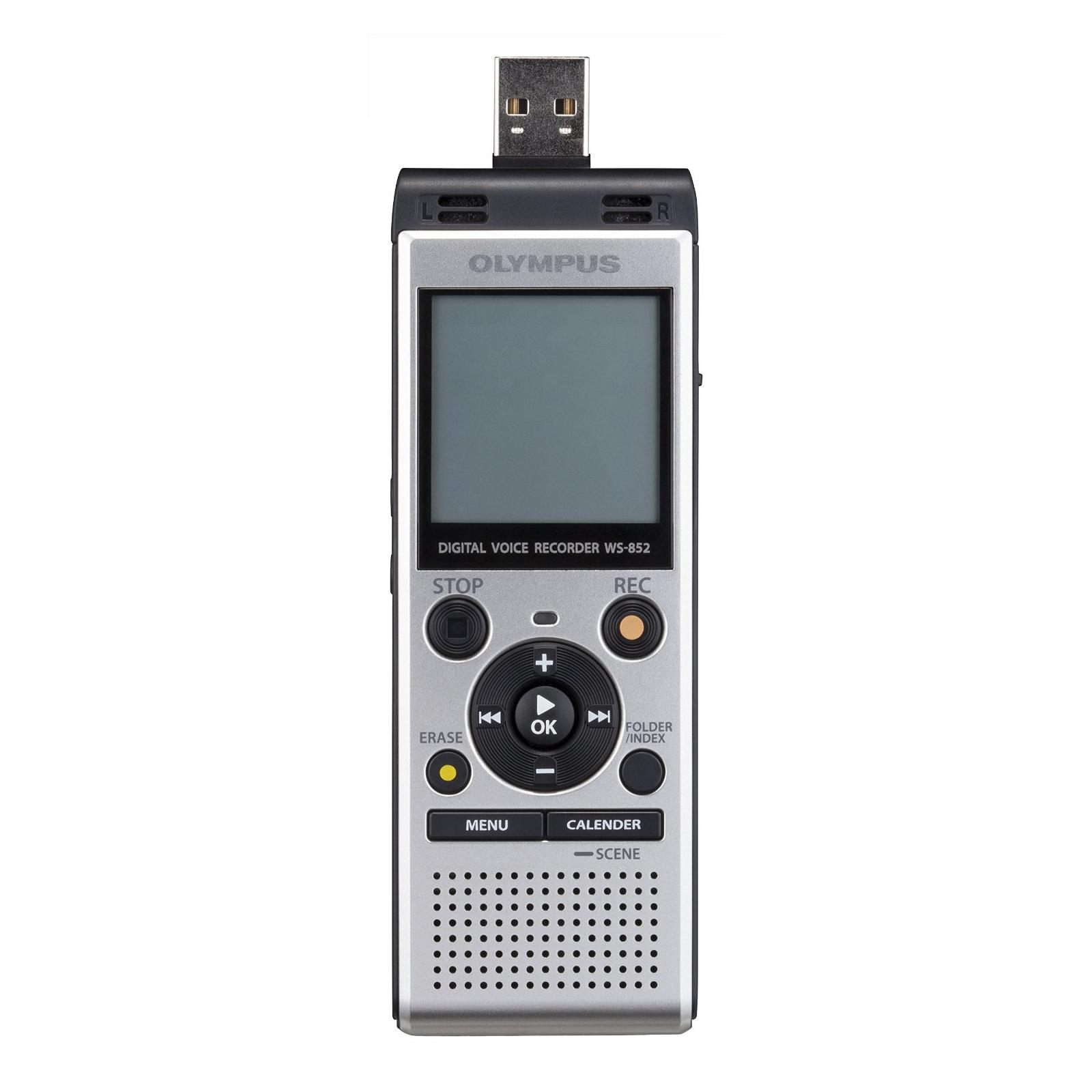 Цифровой диктофон OLYMPUS WS-852 4GB Silver (V415121SE000) изображение 8