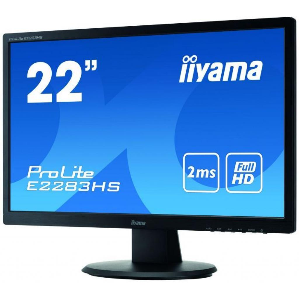 Монитор iiyama E2283HS-B1 изображение 3