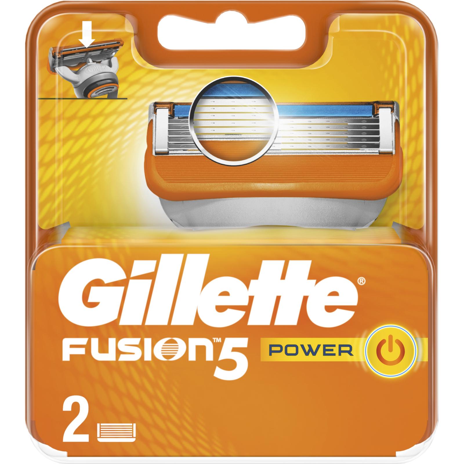 Сменные кассеты Gillette Fusion Power 2 шт (7702018877560) изображение 2