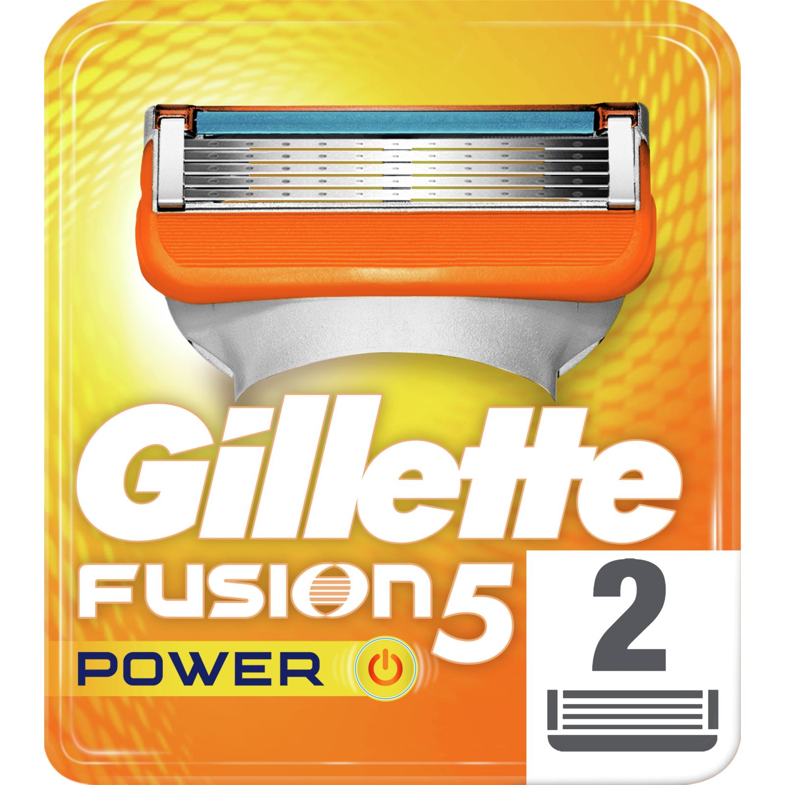 Сменные кассеты Gillette Fusion Power 2 шт (7702018877560)