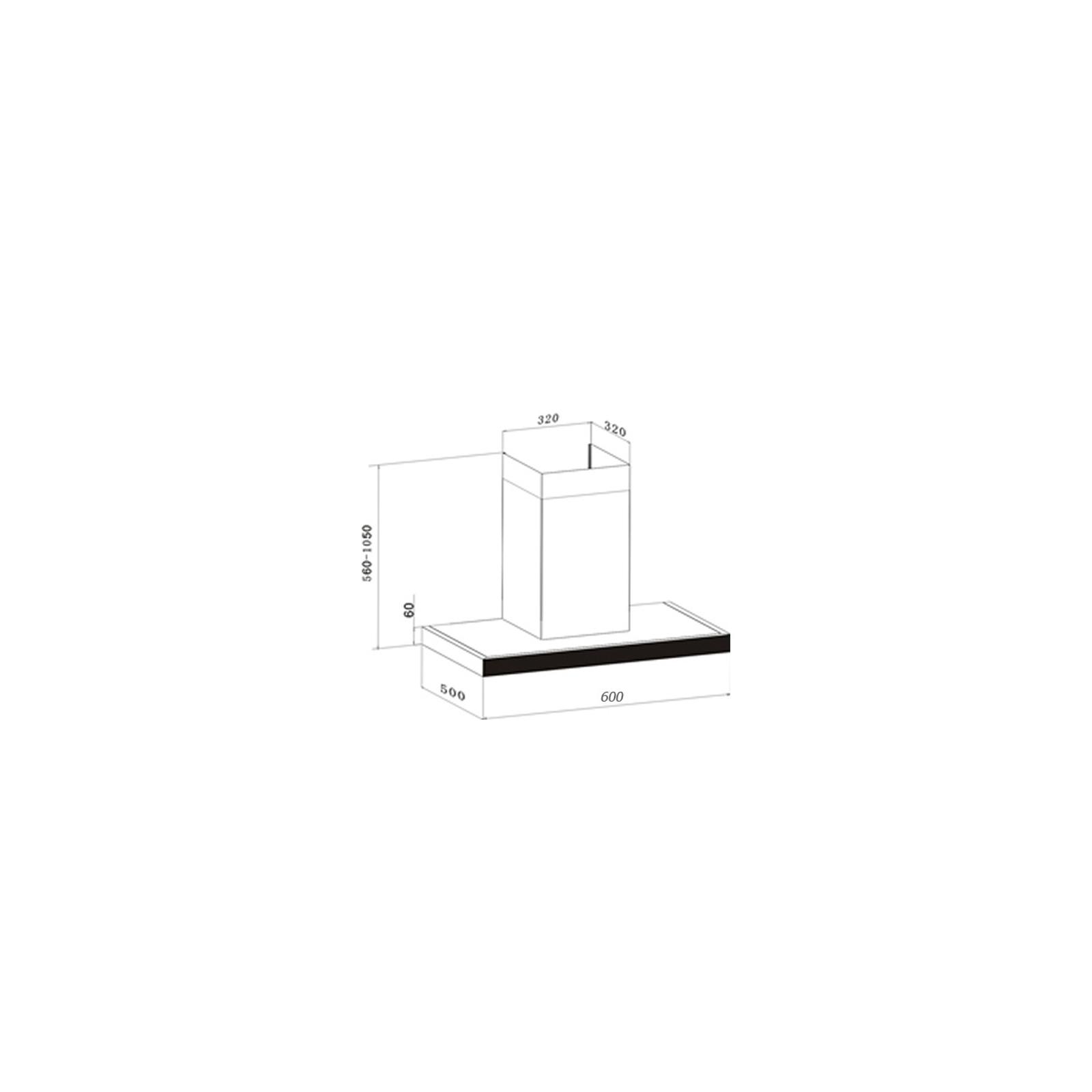 Вытяжка кухонная Interline COLLIDER X/V/W 60 E.S. изображение 7