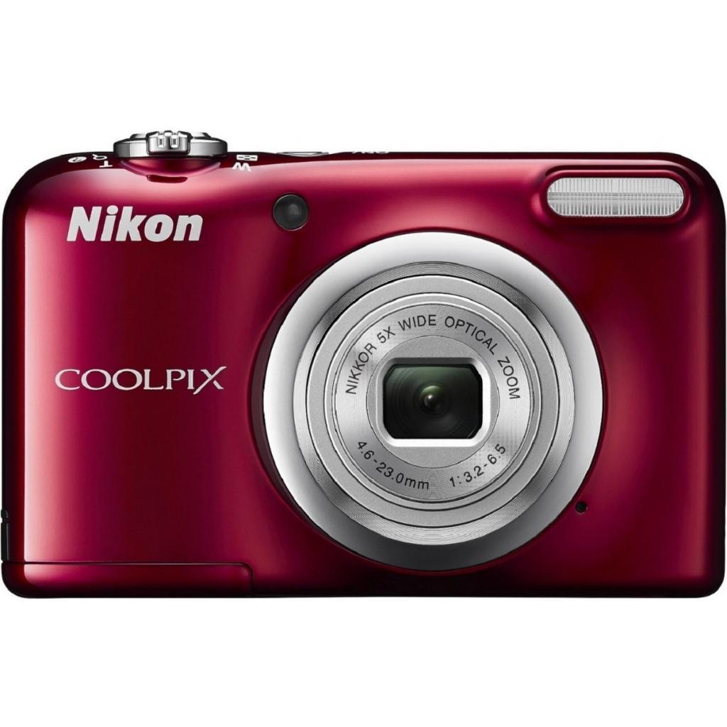Цифровой фотоаппарат Nikon Coolpix A10 Red (VNA982E1) изображение 2
