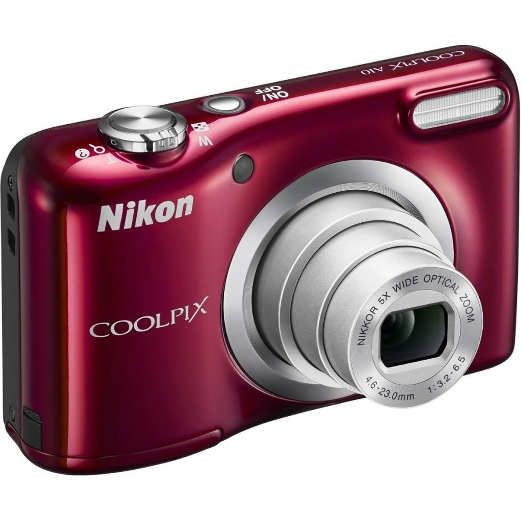 Цифровой фотоаппарат Nikon Coolpix A10 Red (VNA982E1) изображение 3
