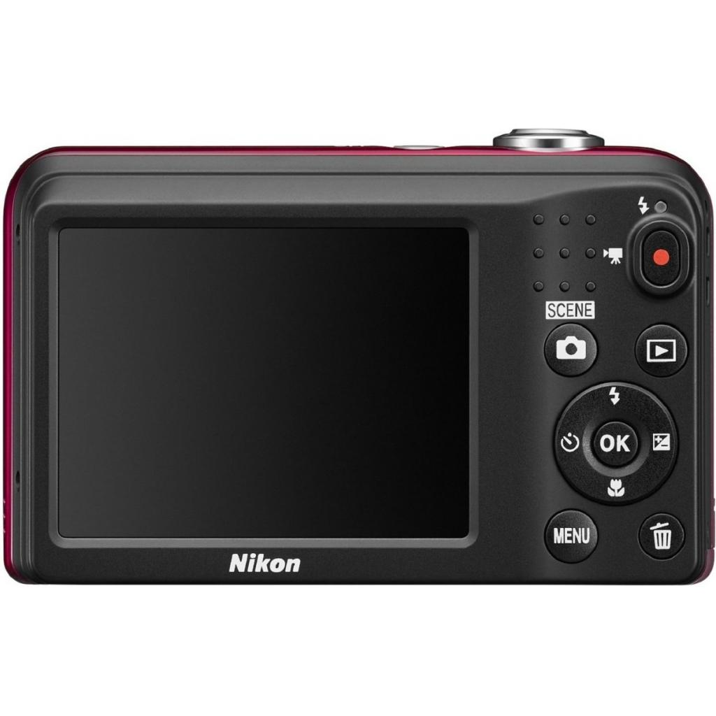 Цифровой фотоаппарат Nikon Coolpix A10 Red (VNA982E1) изображение 4