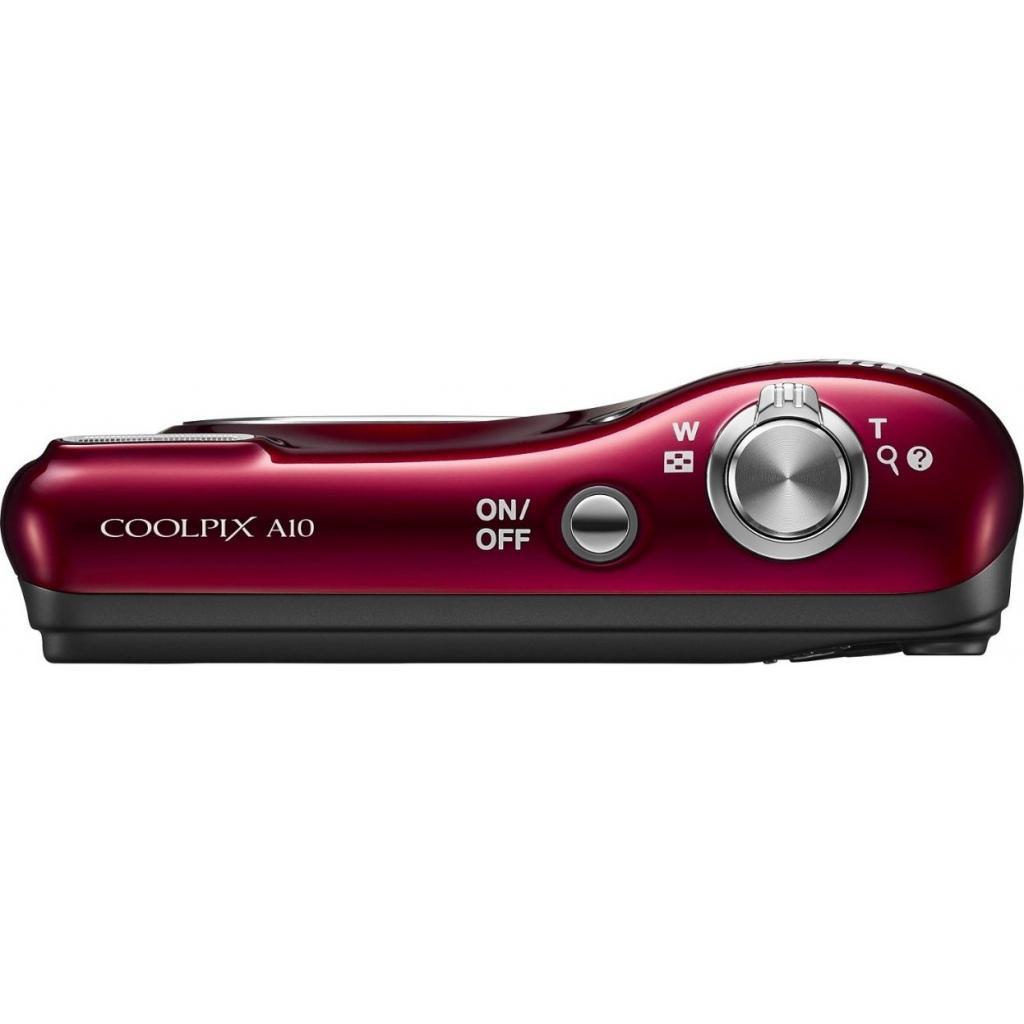 Цифровой фотоаппарат Nikon Coolpix A10 Red (VNA982E1) изображение 5