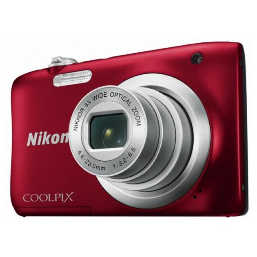 Цифровой фотоаппарат Nikon Coolpix A10 Red (VNA982E1) изображение 6