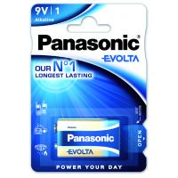 Батарейка PANASONIC Крона 6LR61 Evolta * 1 (6LR61EGE/1BP)