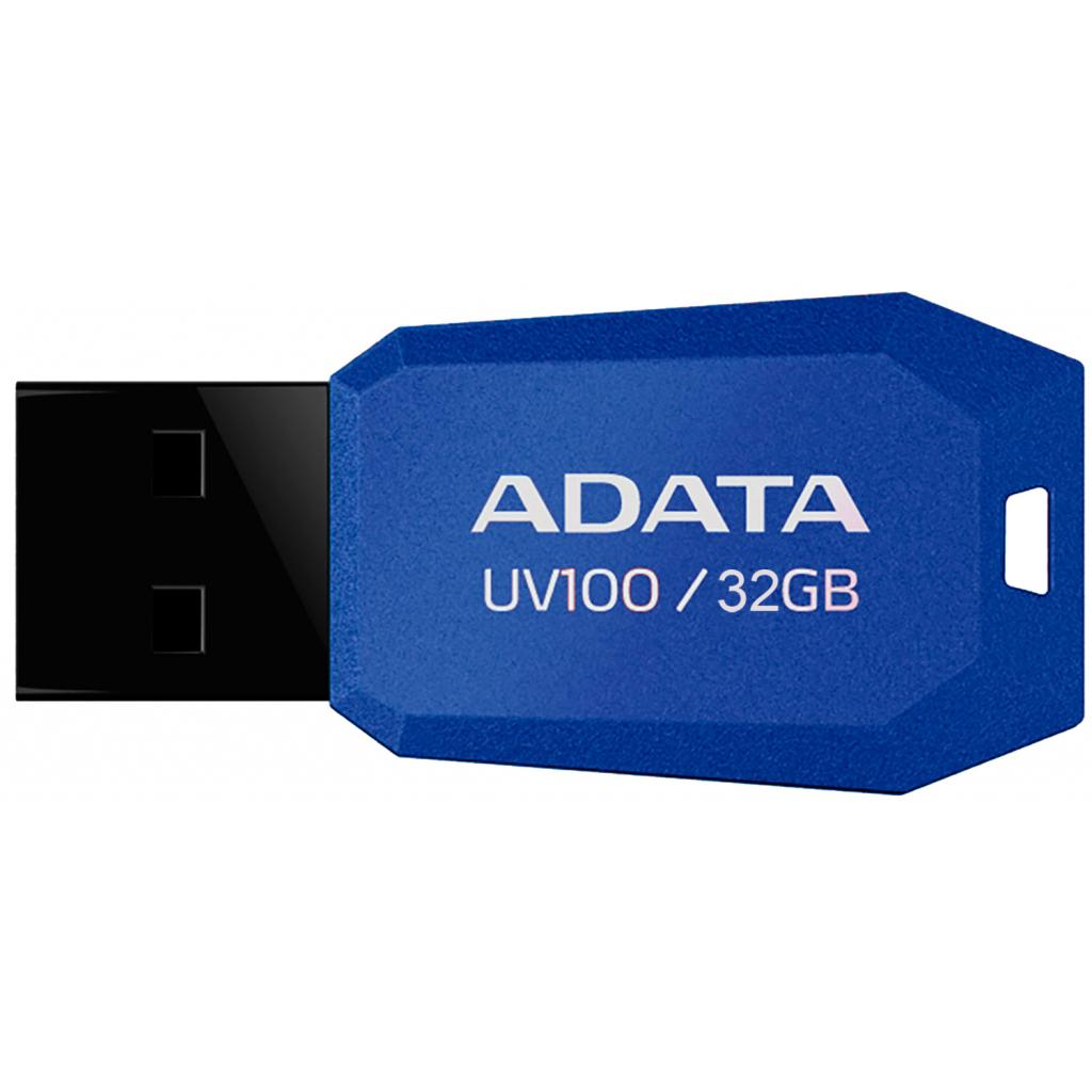 USB флеш накопитель ADATA 32GB DashDrive UV100 Blue USB 2.0 (AUV100-32G-RBL)