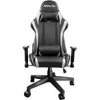 Кресло игровое Raidmax Black/White (DK706WT)