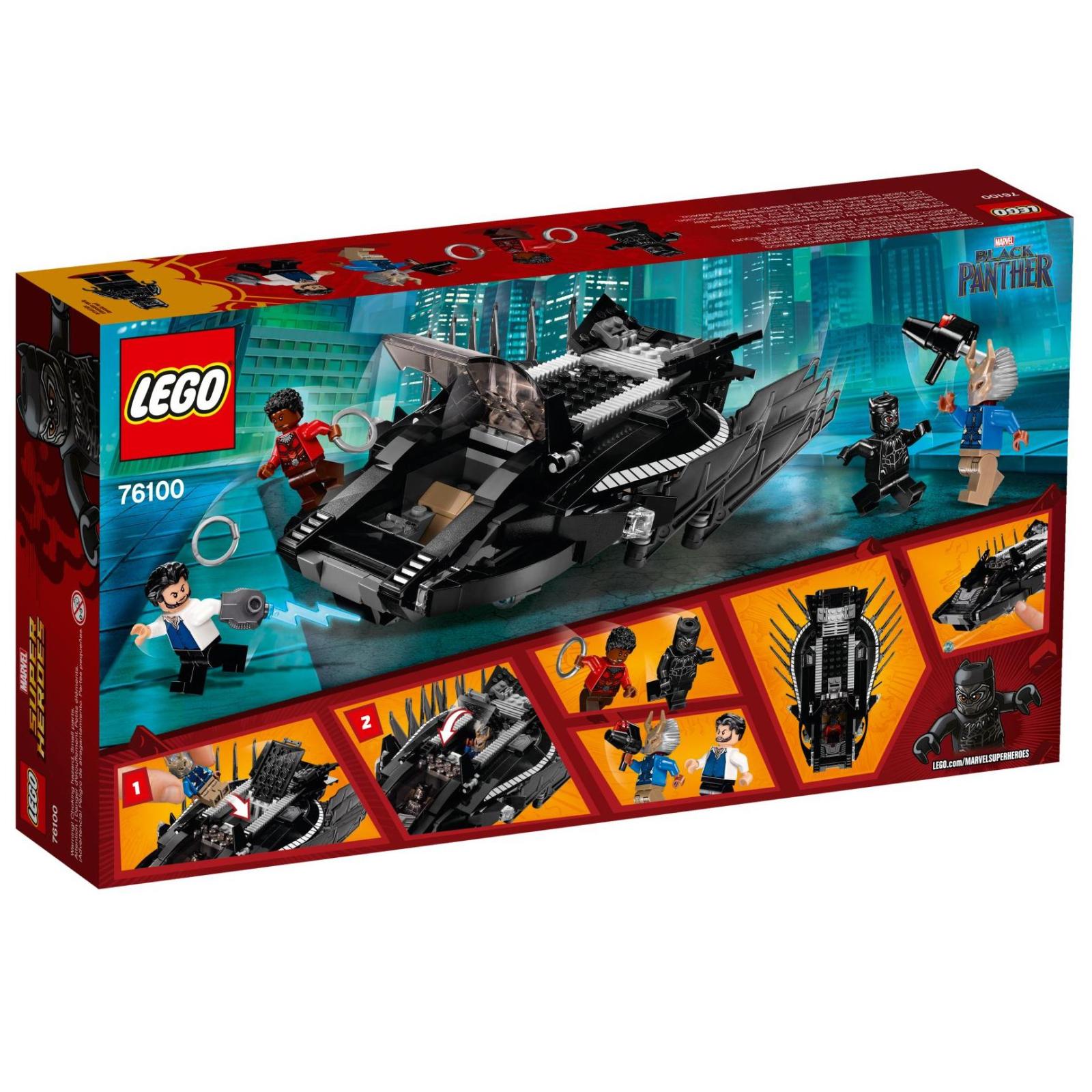 Конструктор LEGO Super Heroes Атака королевского истребителя (76100) изображение 9