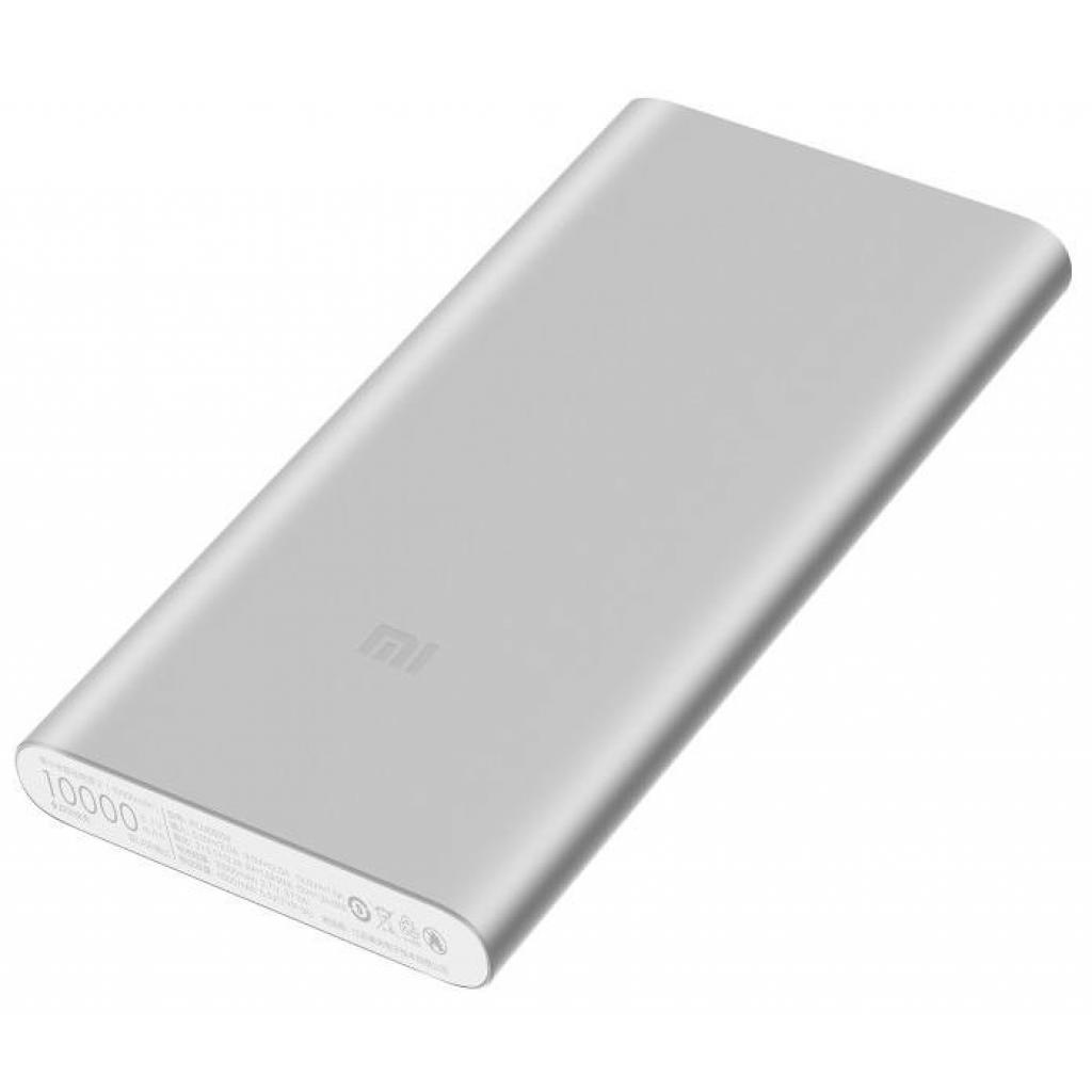 Батарея универсальная Xiaomi Mi Power Bank 2S 10000 mAh QC2.0(2.4A,2USB) (PLM09ZM) Silver (VXN4231GL / VXN4228CN) изображение 2