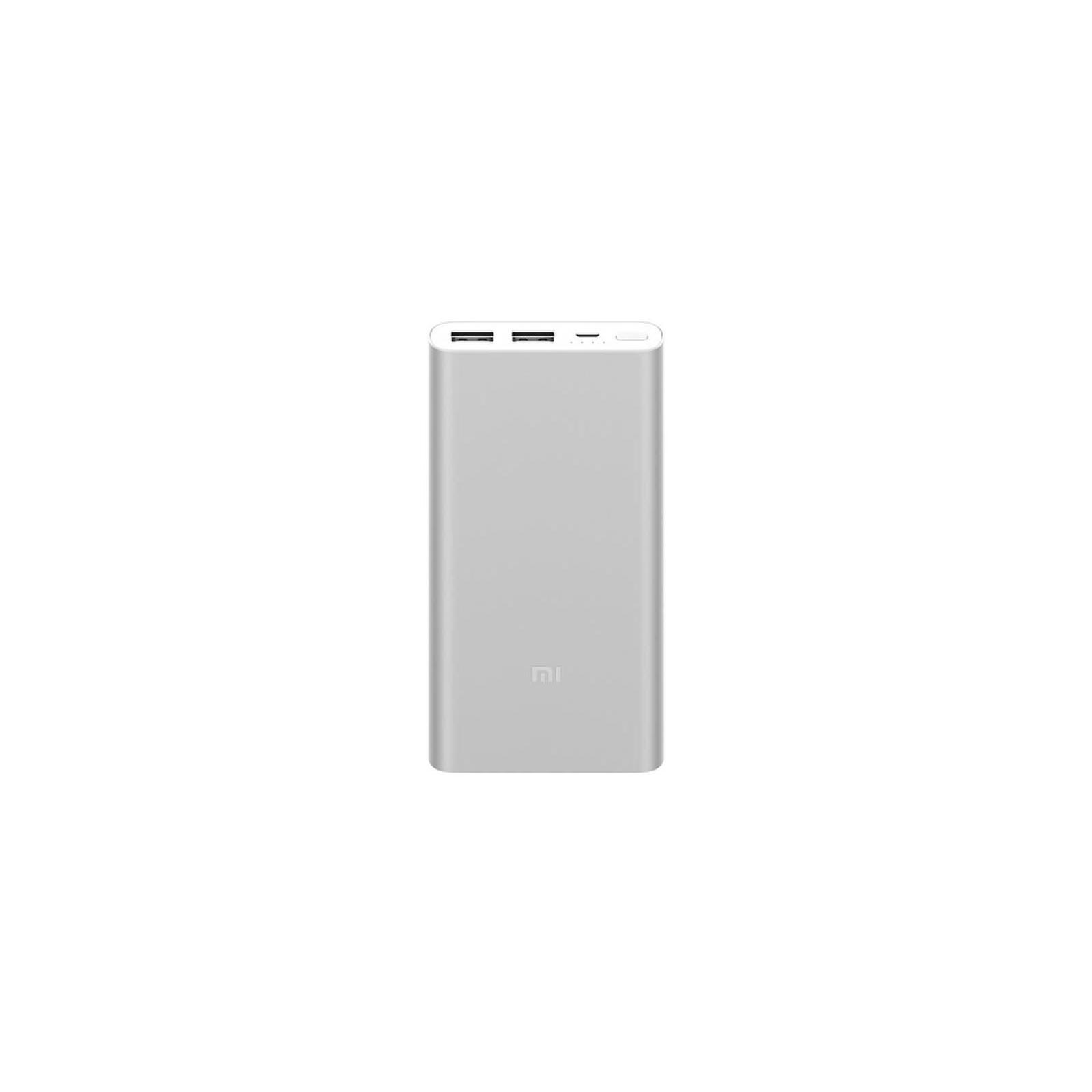 Батарея универсальная Xiaomi Mi Power Bank 2S 10000 mAh QC2.0(2.4A,2USB) (PLM09ZM) Silver (VXN4231GL / VXN4228CN)