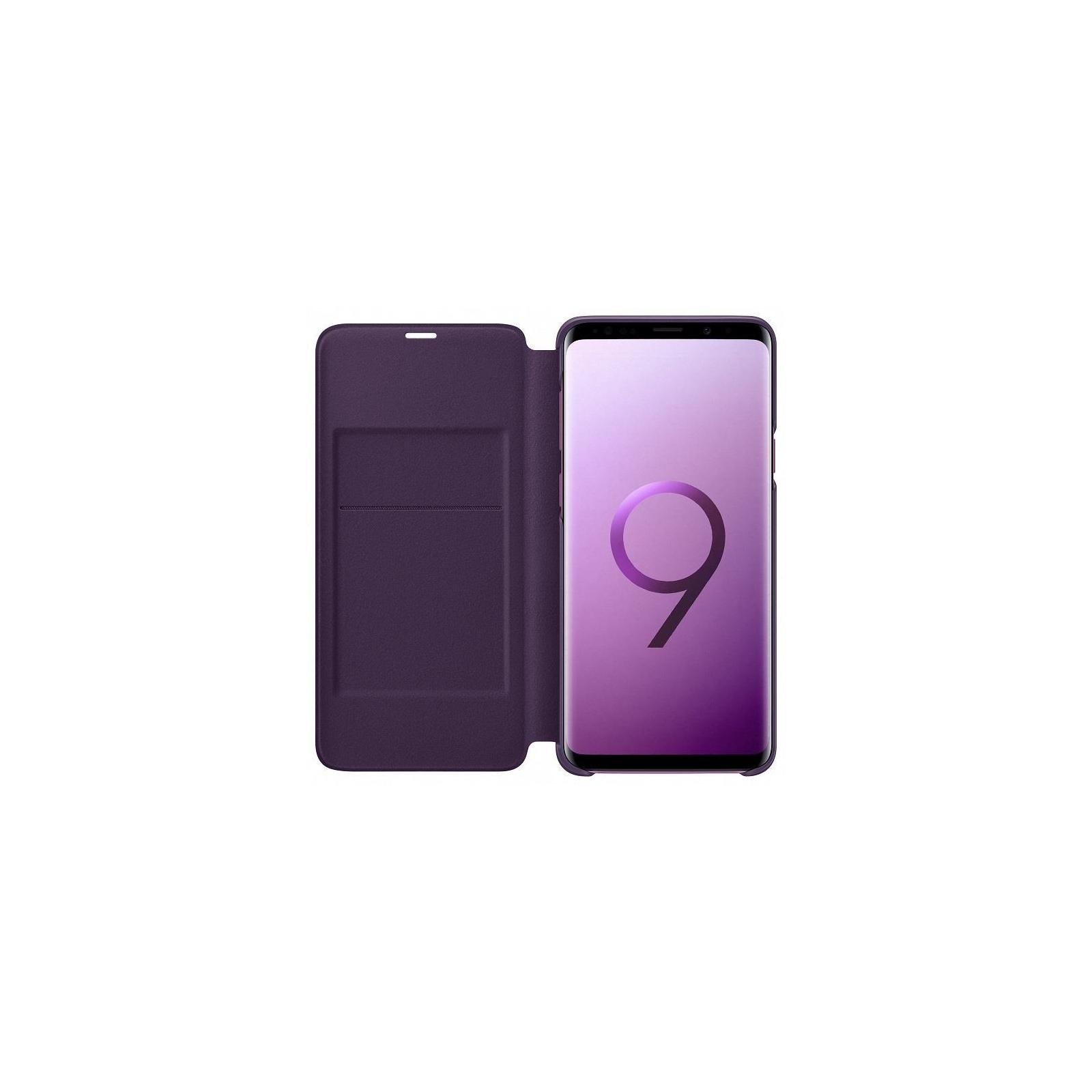 Чехол для моб. телефона Samsung для Galaxy S9+ (G965) LED View Cover Orchid Gray (EF-NG965PVEGRU) изображение 3