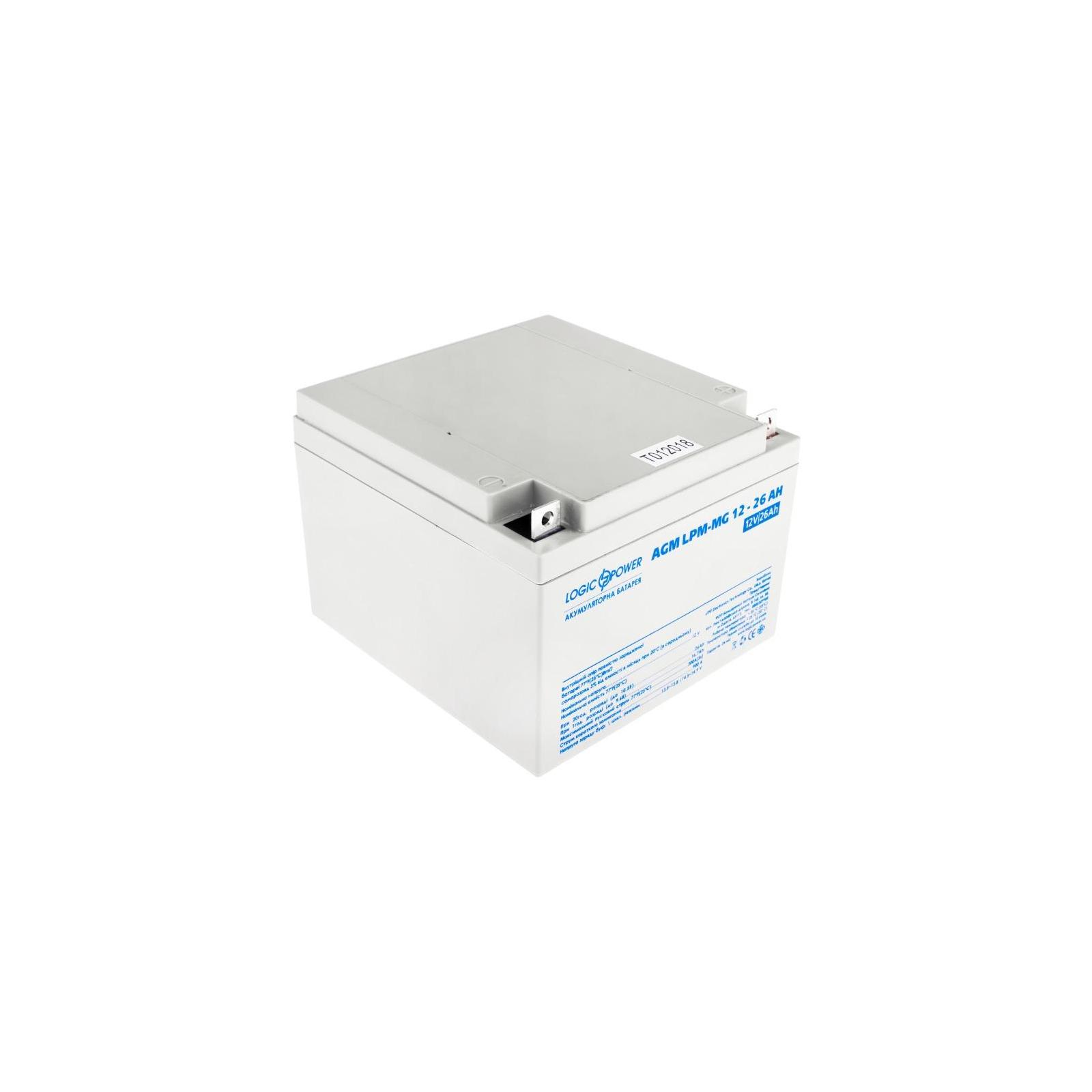 Батарея к ИБП LogicPower LPM MG 12В 26Ач (6557)