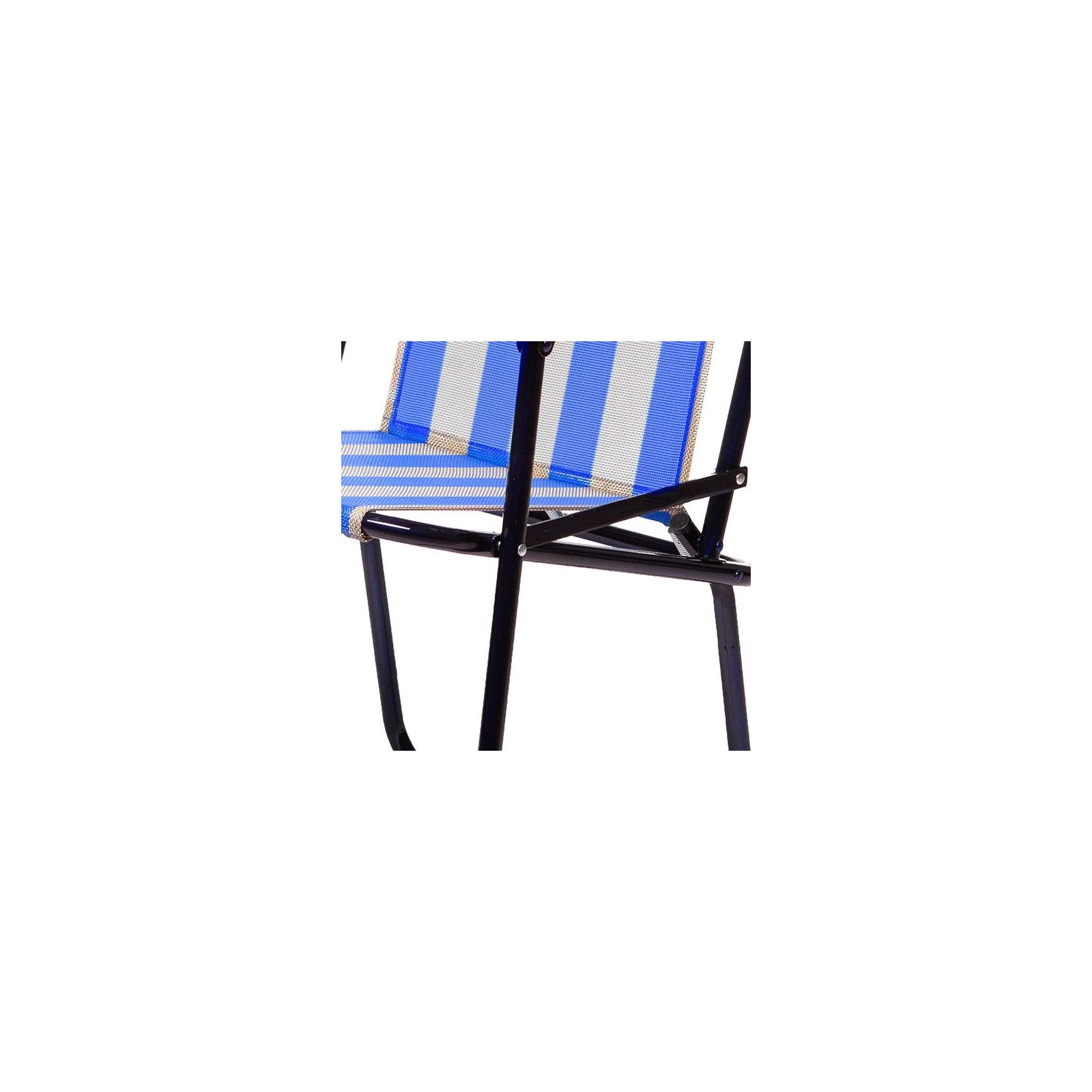 Кресло складное Time Eco Дачный (4820183480088BLUE) изображение 2