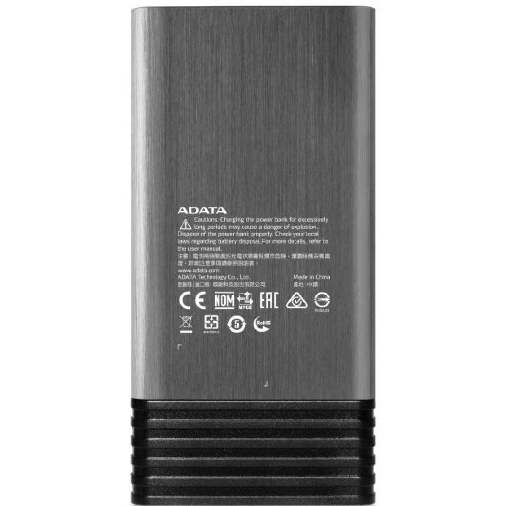Батарея универсальная ADATA X7000 7000mAh Titanium (AX7000-5V-CTI) изображение 3