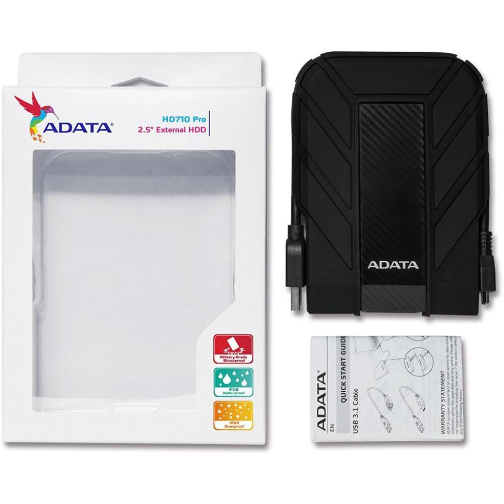 """Внешний жесткий диск 2.5"""" 2TB ADATA (AHD710P-2TU31-CRD) изображение 5"""