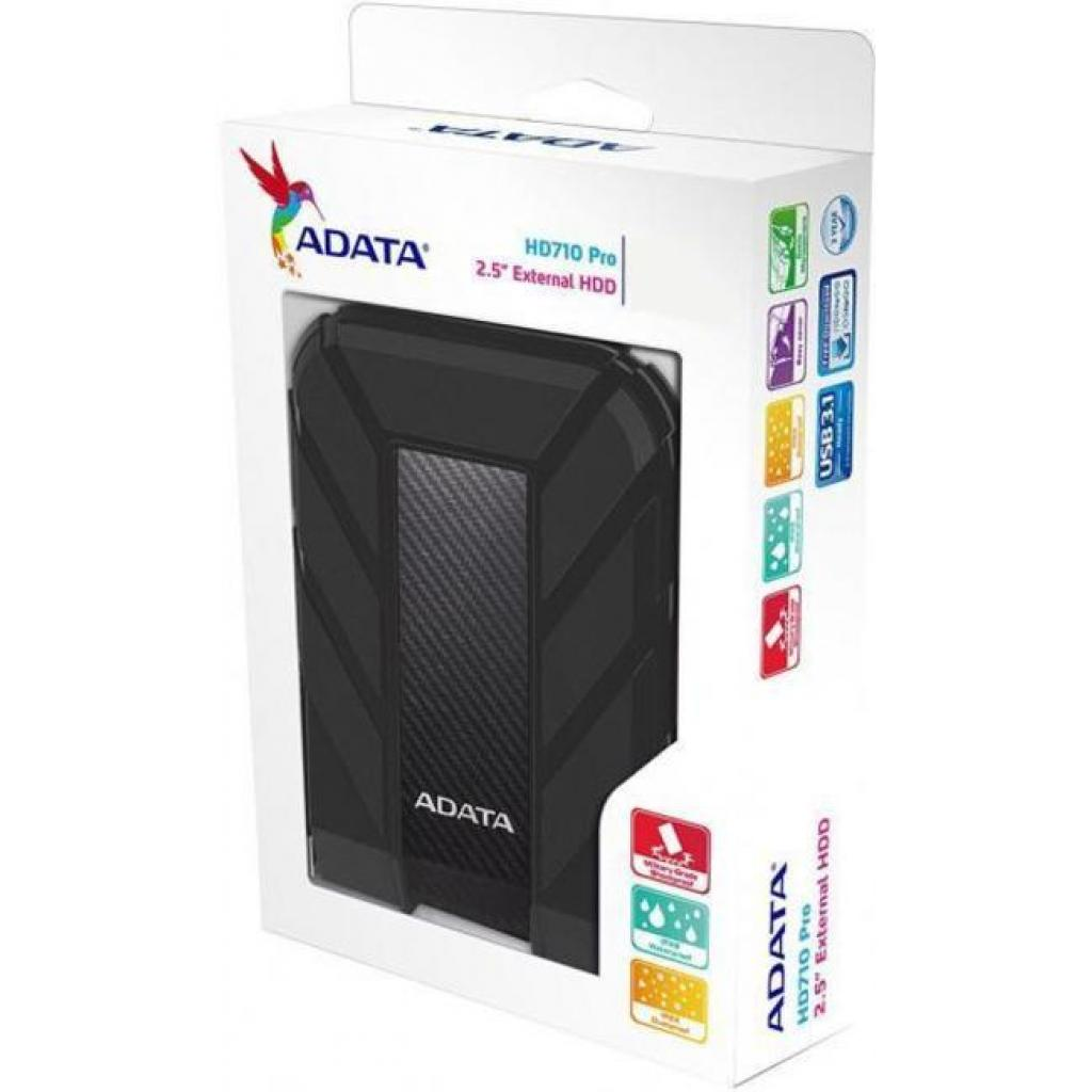"""Внешний жесткий диск 2.5"""" 2TB ADATA (AHD710P-2TU31-CRD) изображение 6"""