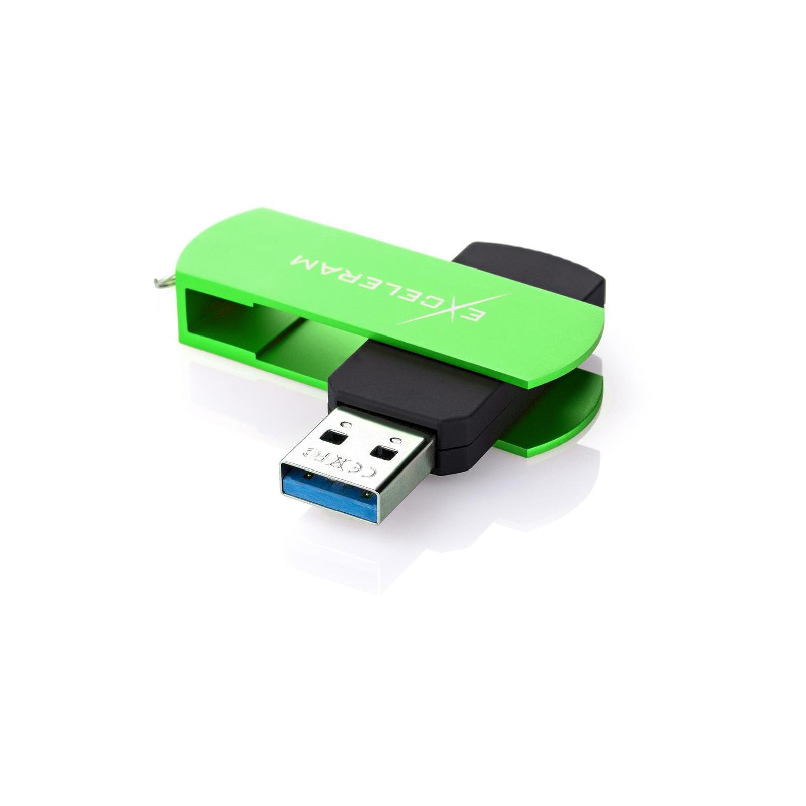 USB флеш накопитель eXceleram 32GB P2 Series Blue/Black USB 3.1 Gen 1 (EXP2U3BLB32) изображение 2