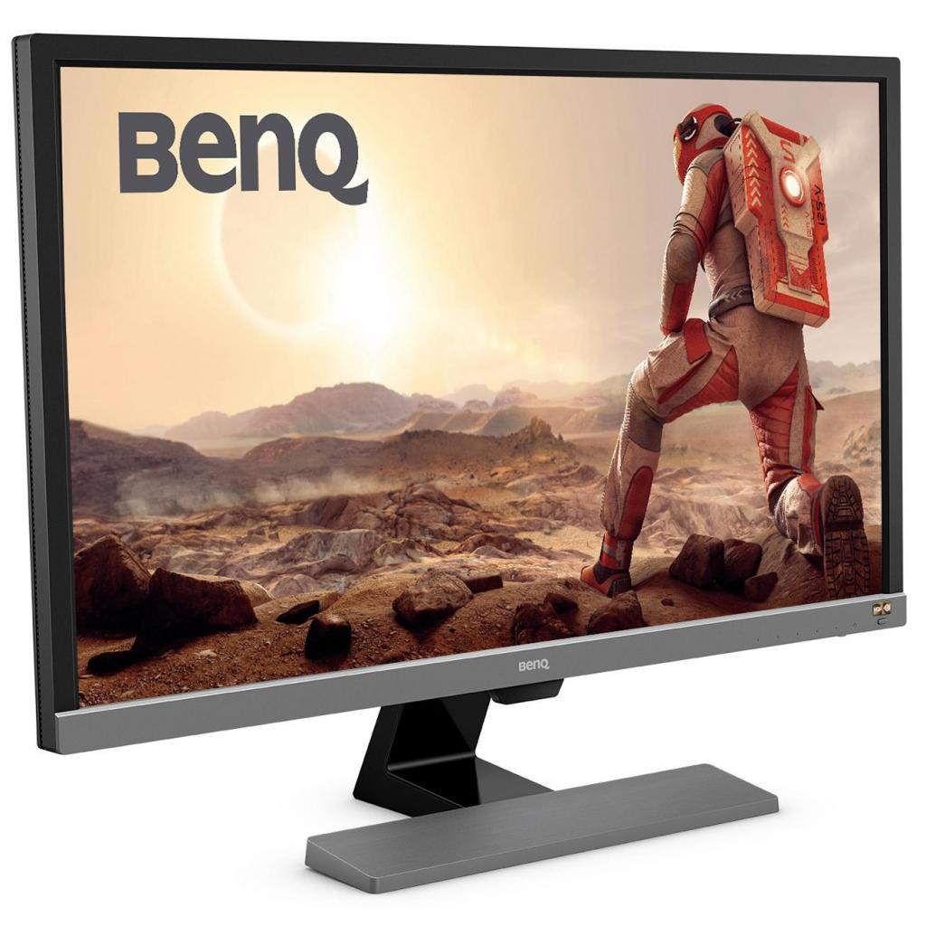 Монитор BENQ EL2870U Metallic Grey изображение 2