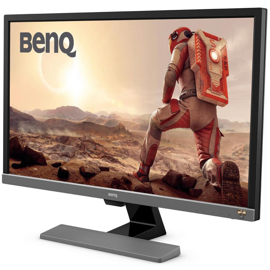 Монитор BENQ EL2870U Metallic Grey изображение 3