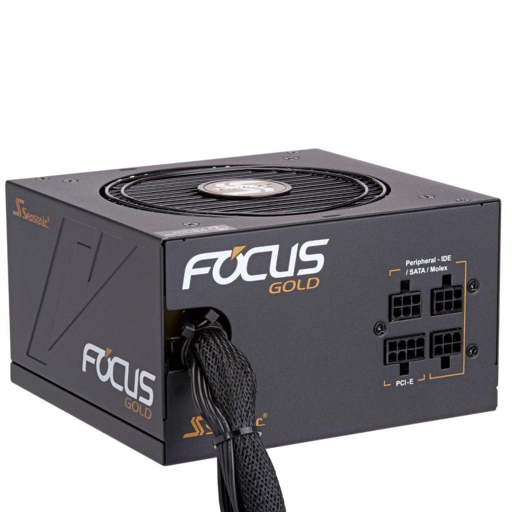 Блок питания Seasonic 450W Focus Gold (SSR-450FM) изображение 3