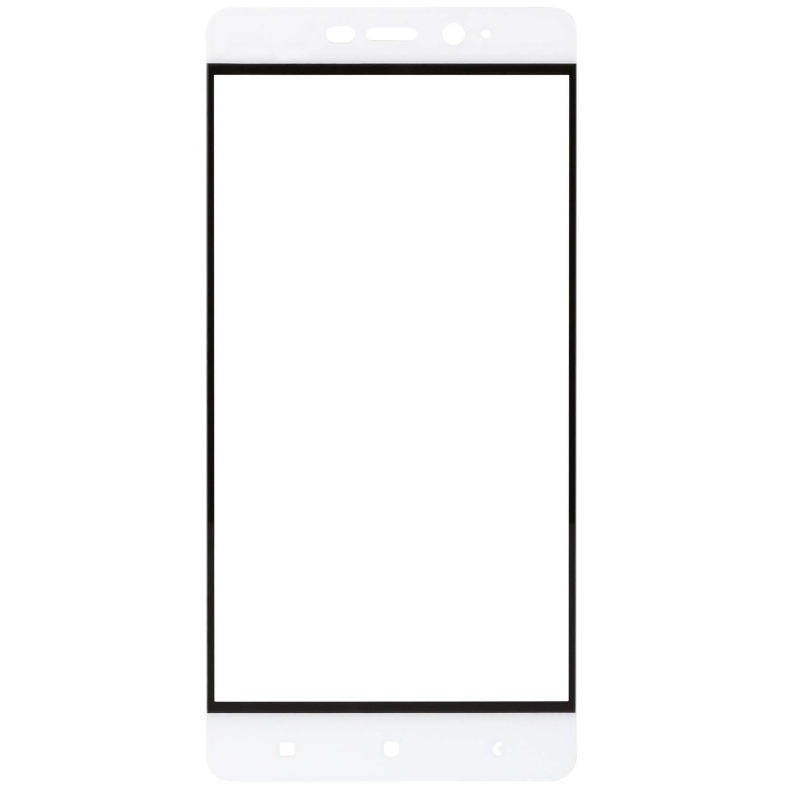 Стекло защитное MakeFuture для Xiaomi Redmi 4 Prime White Full Cover (MGFC-XR4PW) изображение 2