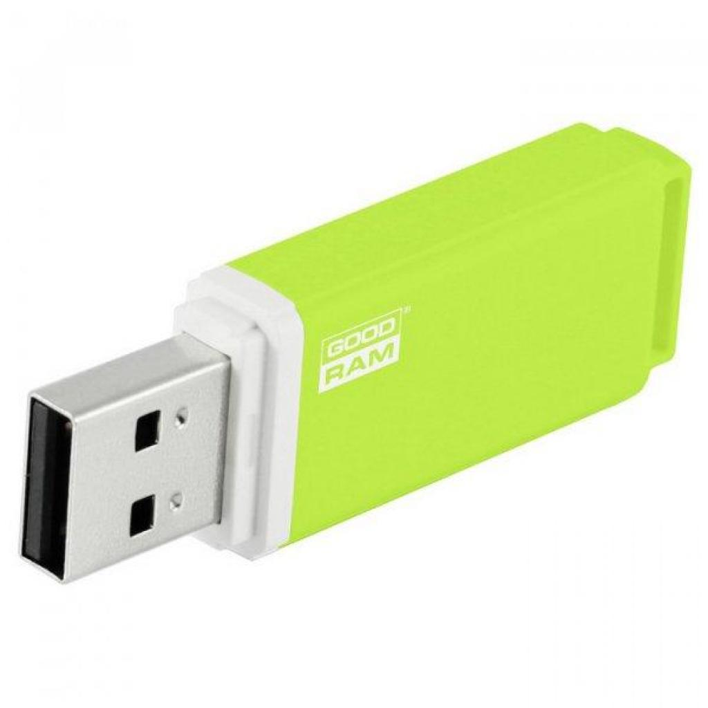 USB флеш накопитель GOODRAM 16GB UMO2 Green USB 2.0 (UMO2-0160G0R11) изображение 3