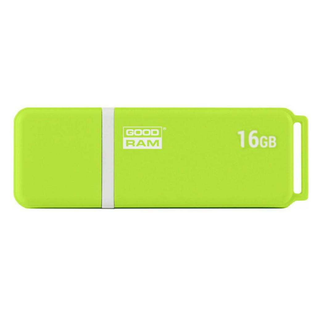 USB флеш накопитель GOODRAM 16GB UMO2 Green USB 2.0 (UMO2-0160G0R11)
