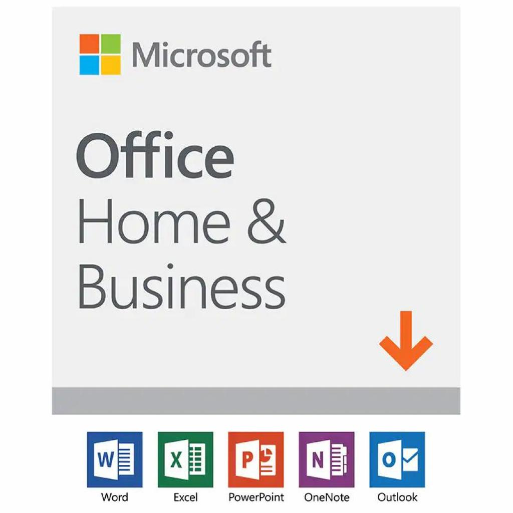 Офісний додаток Microsoft Office 2019 Home and Business English Medialess (T5D-03245)
