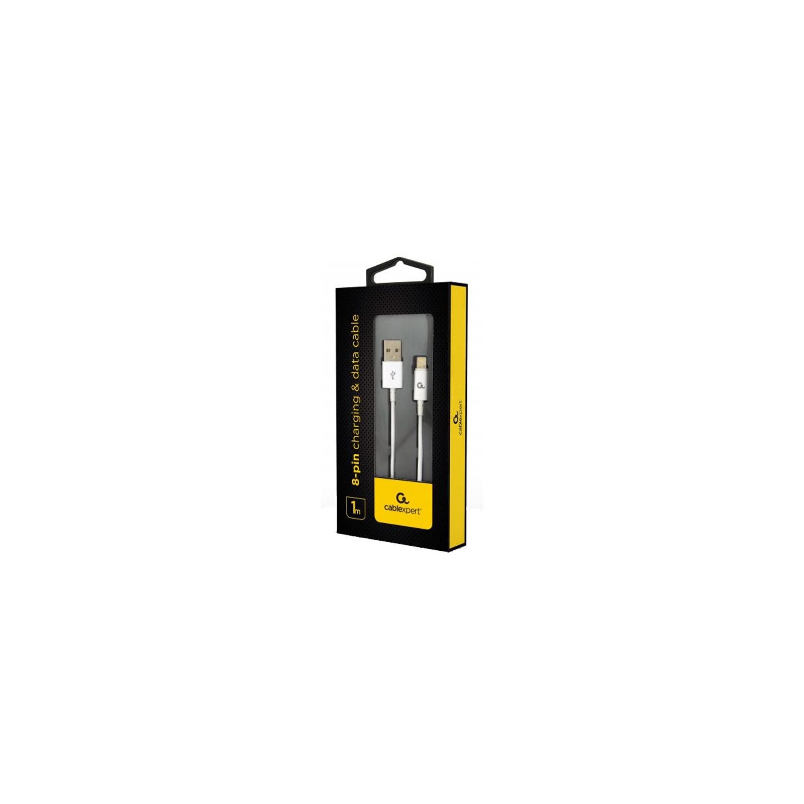 Дата кабель USB 2.0 AM to Lightning 1.0m Cablexpert (CC-USB2P-AMLM-1M) изображение 2