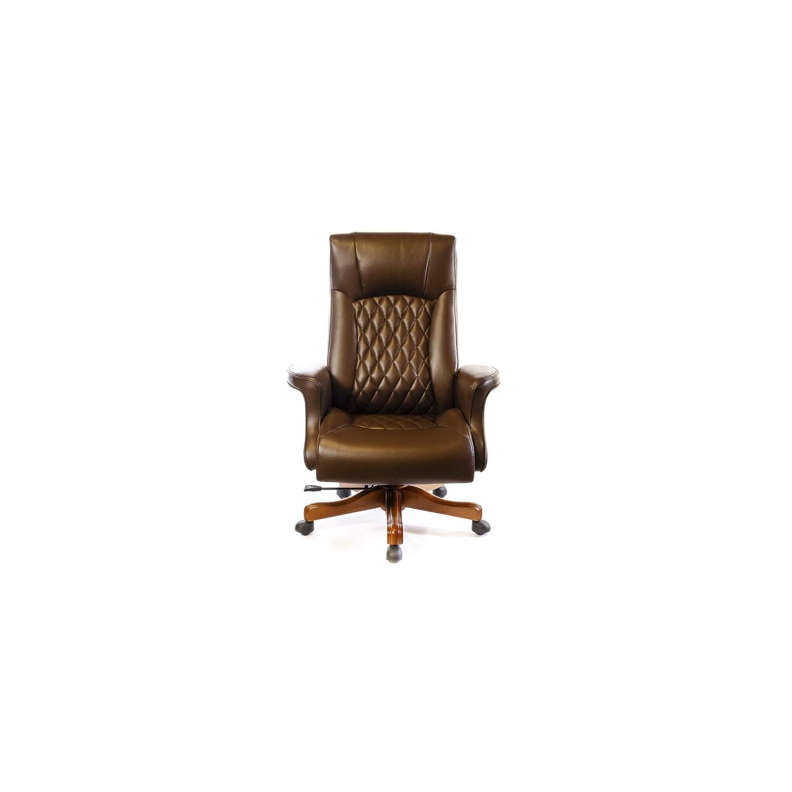 Офисное кресло Аклас Франсуа EX D-Tilt Коричневое (13631) изображение 2