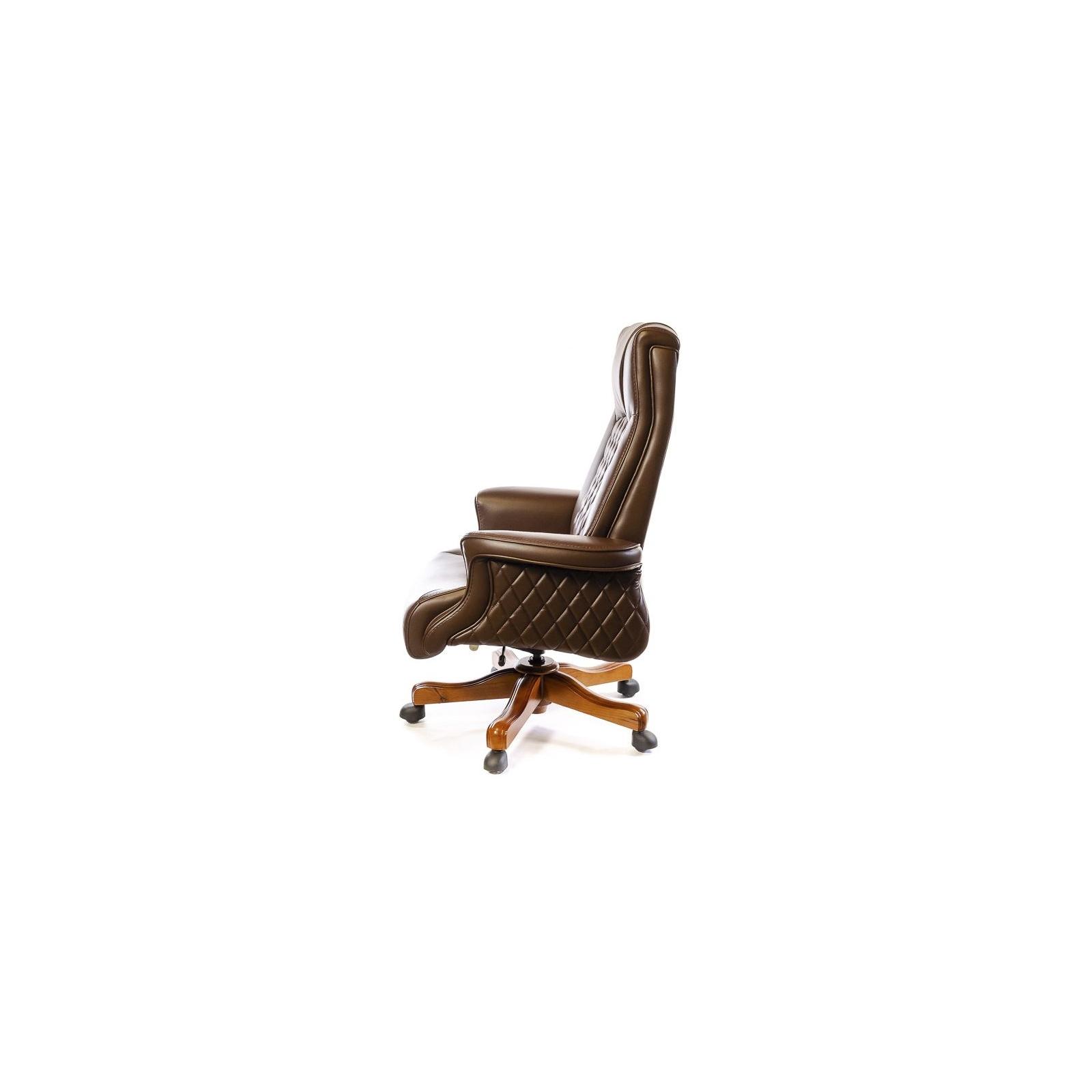 Офисное кресло Аклас Франсуа EX D-Tilt Коричневое (13631) изображение 3