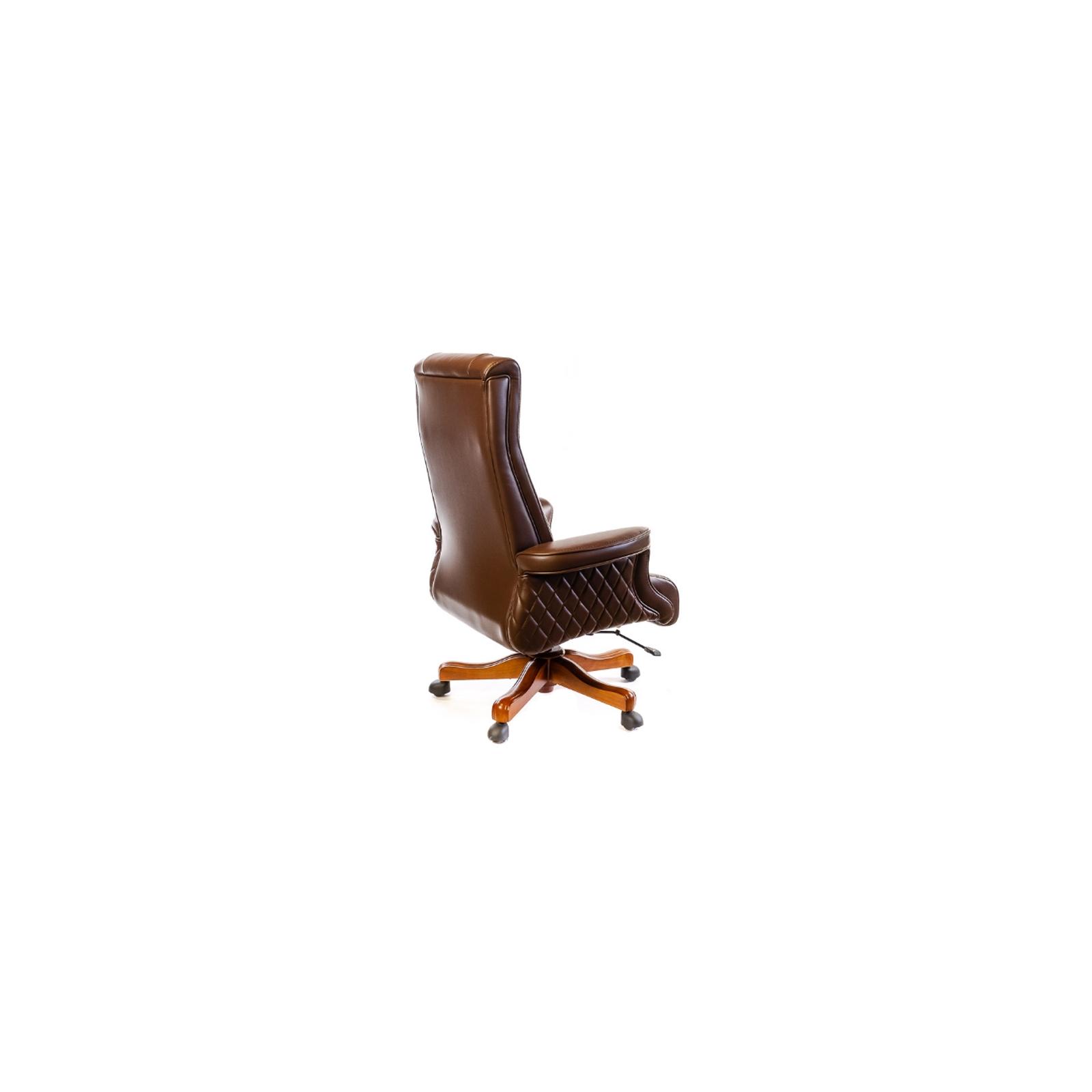 Офисное кресло Аклас Франсуа EX D-Tilt Коричневое (13631) изображение 4