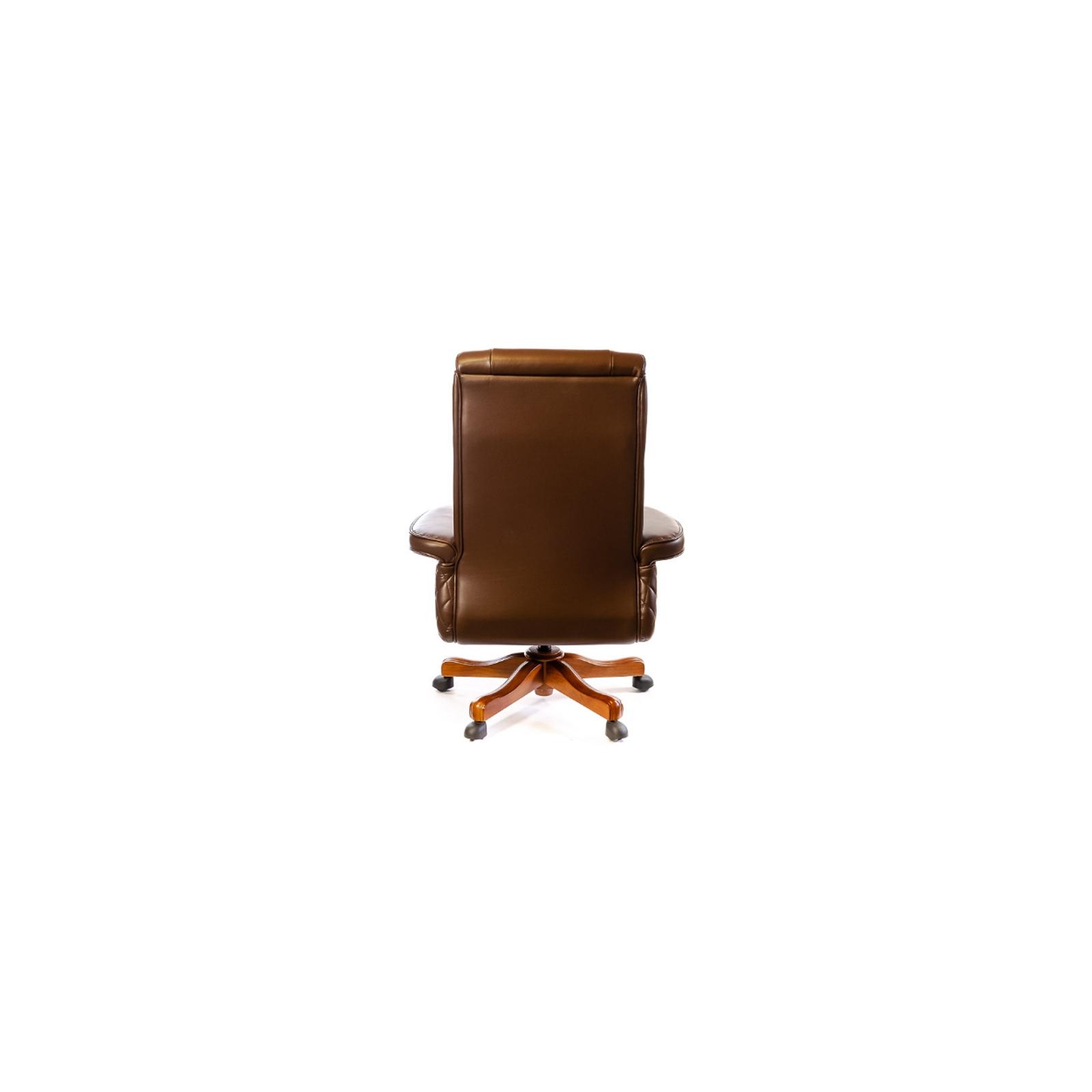 Офисное кресло Аклас Франсуа EX D-Tilt Коричневое (13631) изображение 5