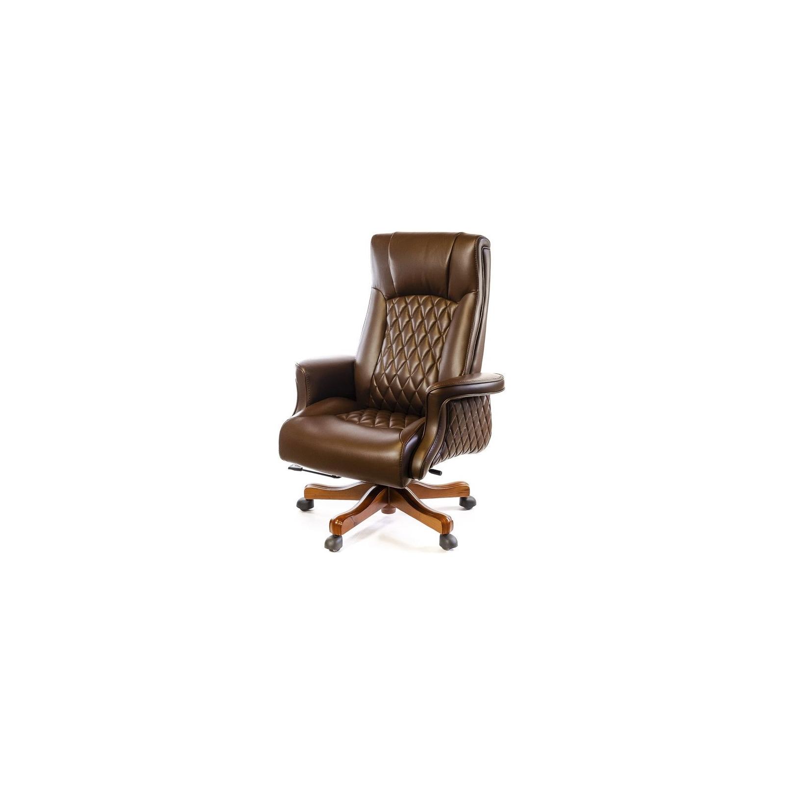 Офисное кресло Аклас Франсуа EX D-Tilt Коричневое (13631)