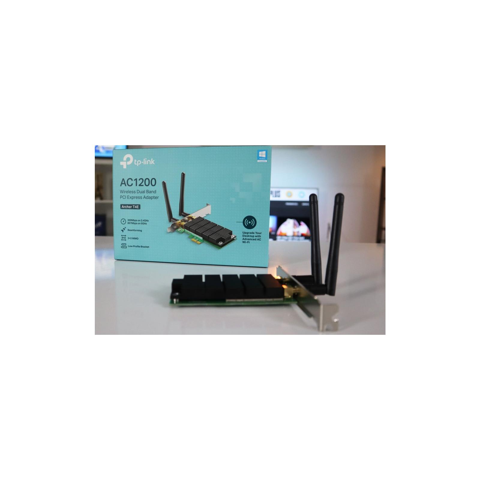 Ретранслятор TP-Link Archer T4E AC1200, PCI Express, Beamforming (ARCHER-T4E) зображення 10