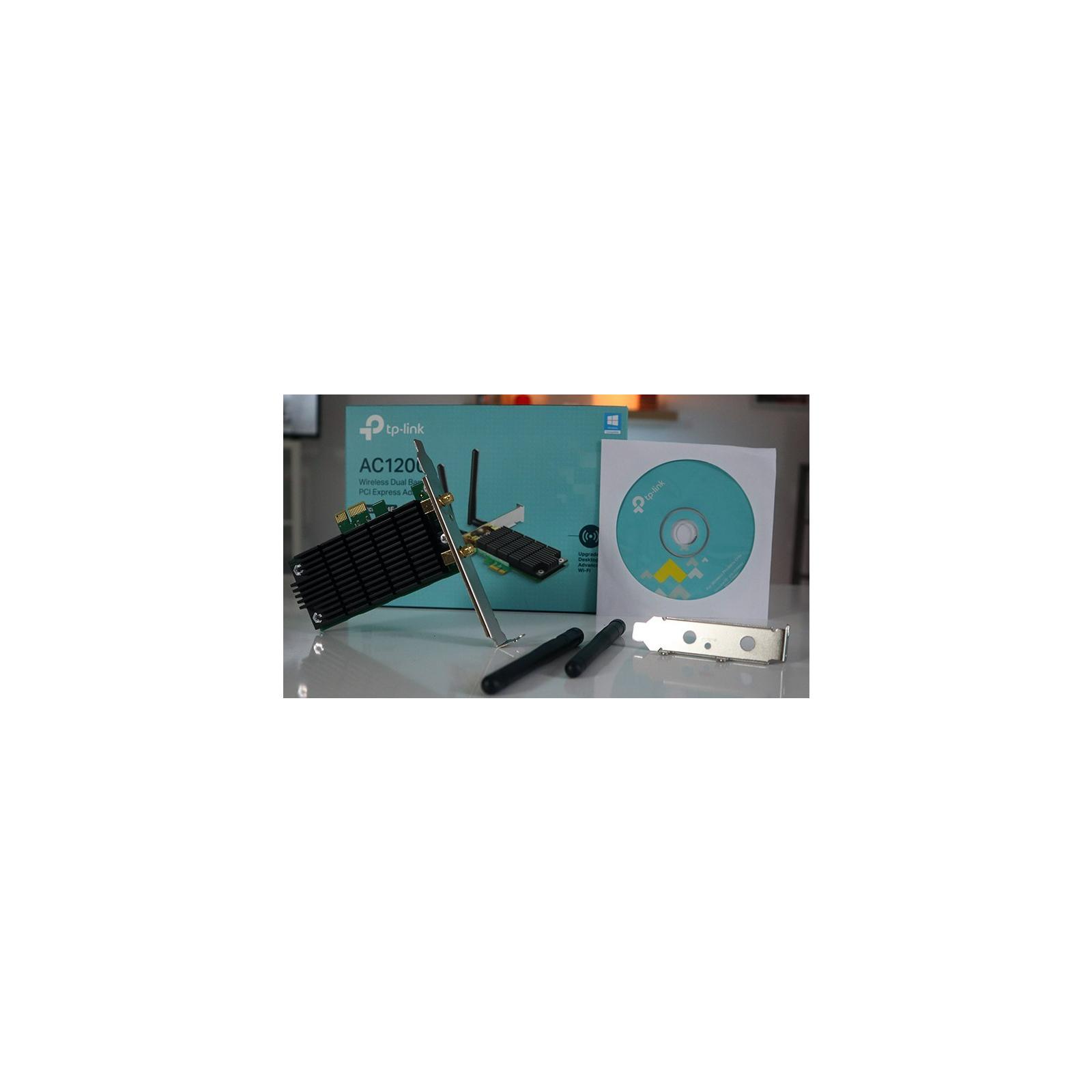 Ретранслятор TP-Link Archer T4E AC1200, PCI Express, Beamforming (ARCHER-T4E) зображення 8