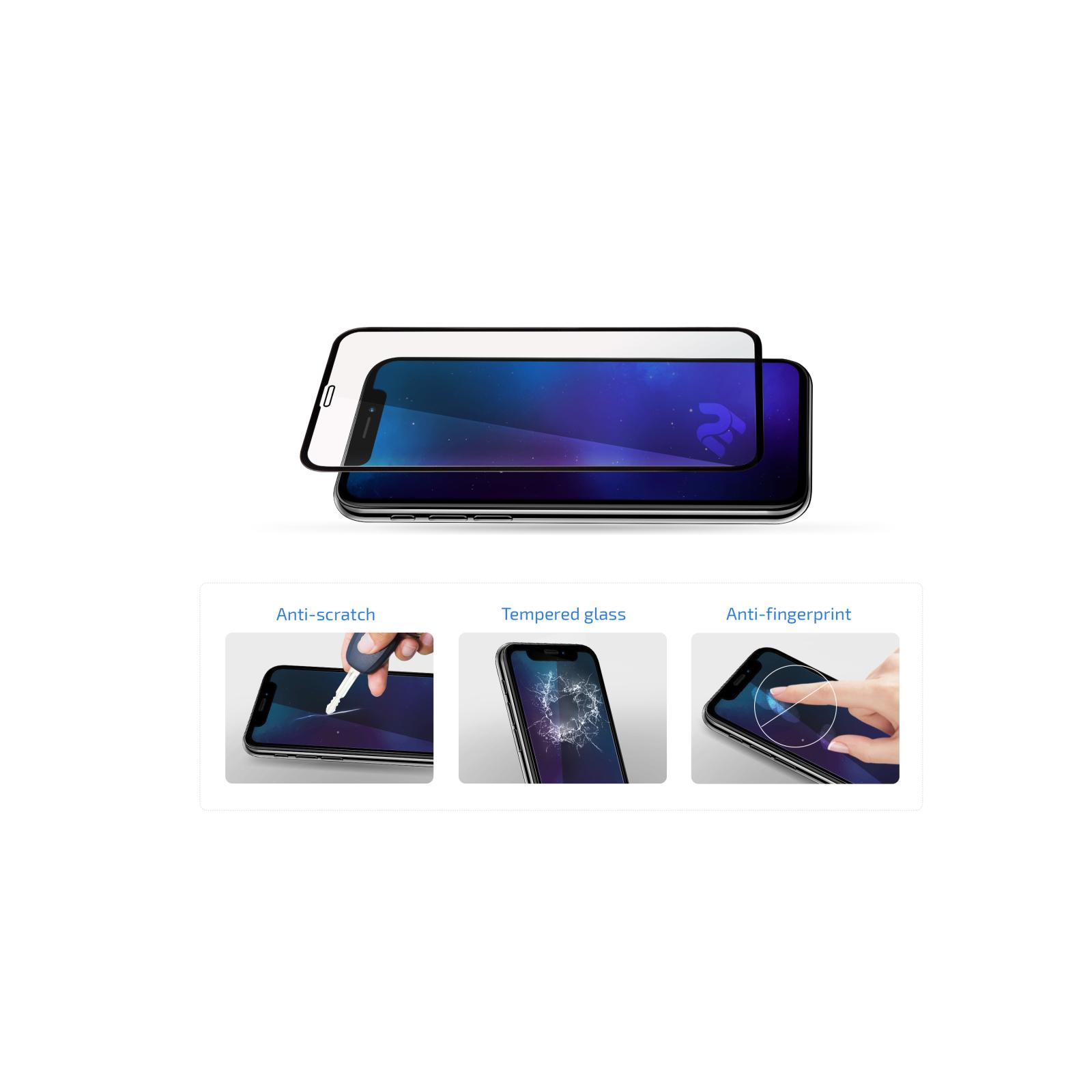 Скло захисне 2E Basic Xiaomi Redmi Note 9, 2.5D FCFG, black border (2E-MI-N9-SMFCFG-BB) зображення 3