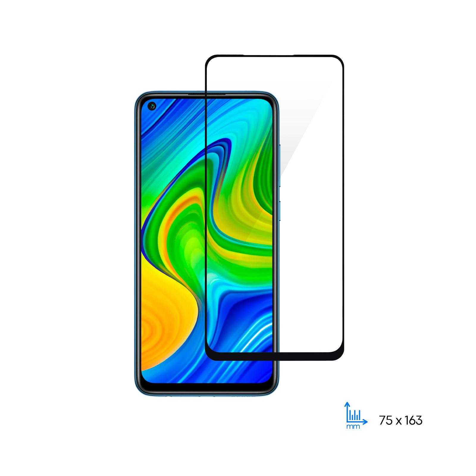 Скло захисне 2E Basic Xiaomi Redmi Note 9, 2.5D FCFG, black border (2E-MI-N9-SMFCFG-BB)