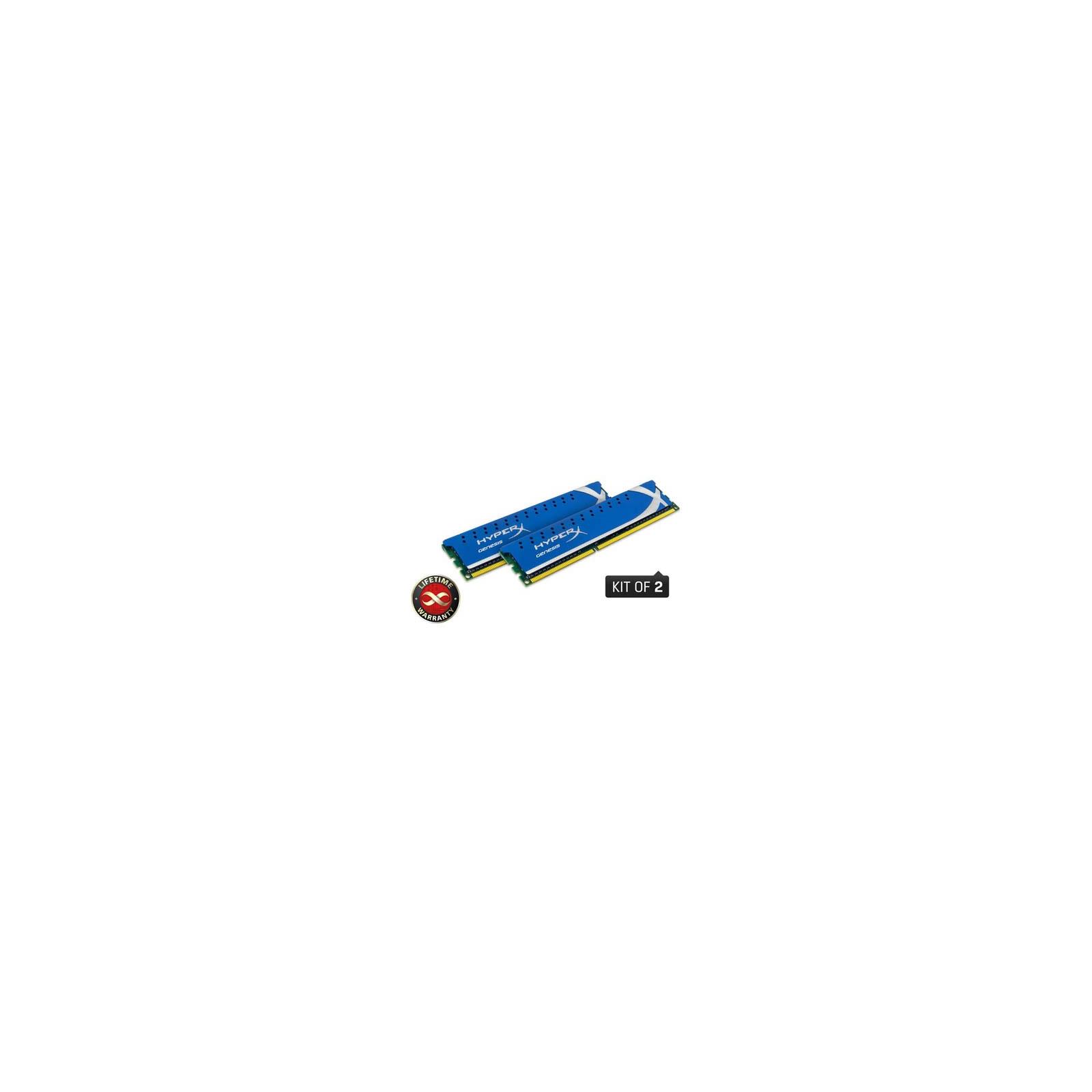 Модуль памяти для компьютера DDR3 8GB (2x4GB) 1600 MHz Kingston (KHX1600C9D3K2/8GX / KHX1600C9D3K2/8G)