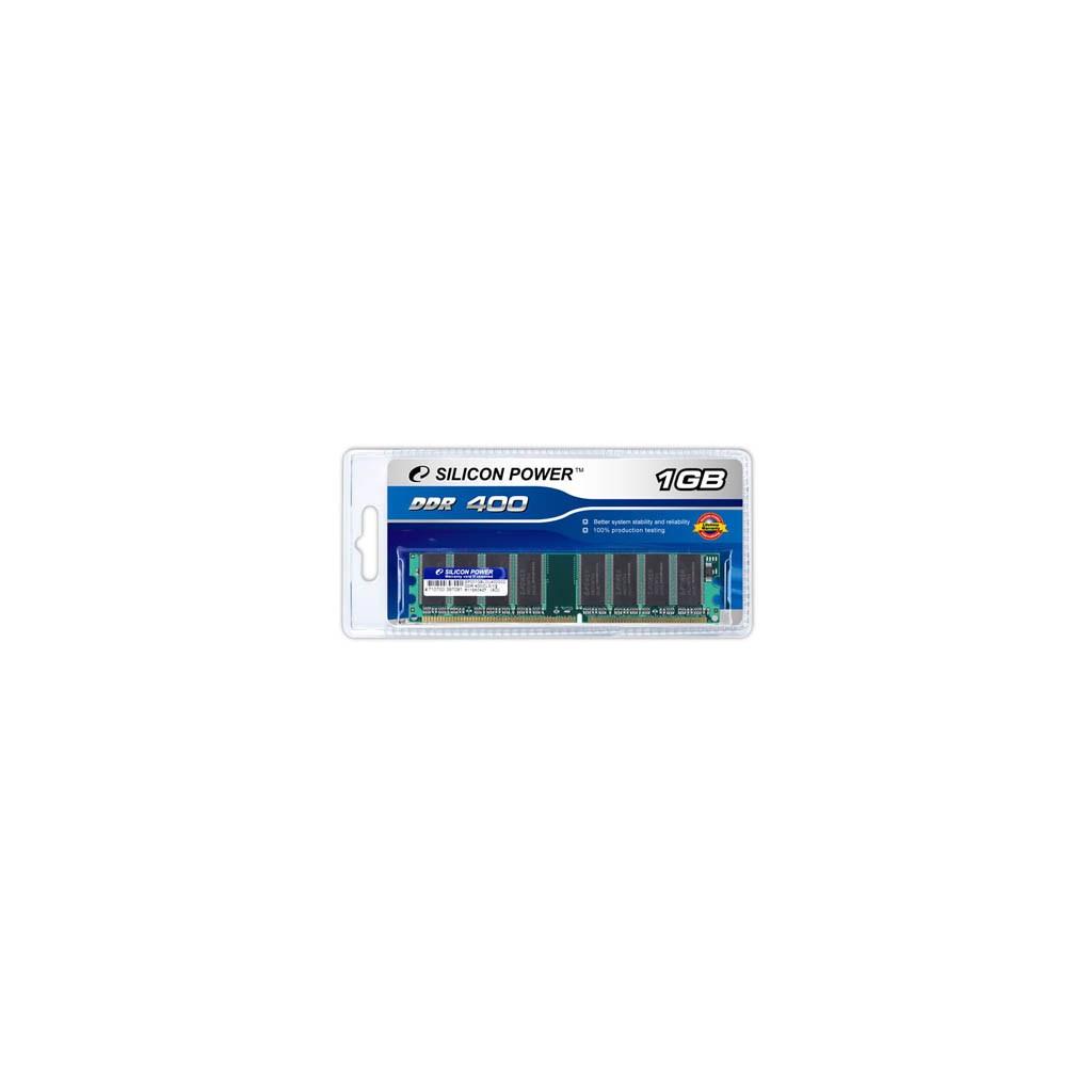 Модуль памяти для компьютера DDR SDRAM 1GB 400 MHz Silicon Power (SP001GBLDU400O02)