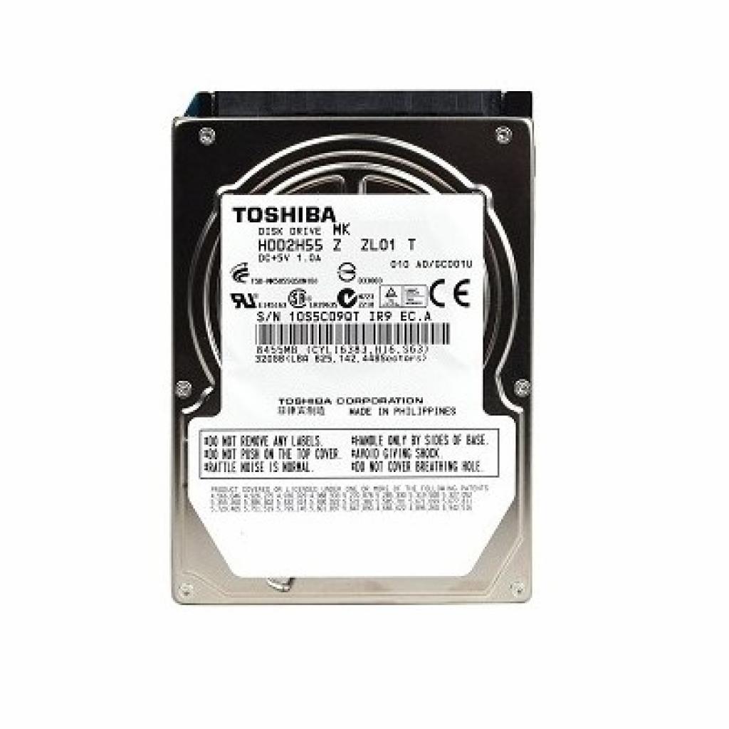 """Жесткий диск для ноутбука 2.5""""  80GB TOSHIBA (MK8050GAC)"""