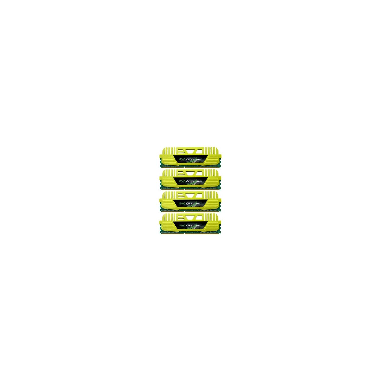 Модуль памяти для компьютера DDR3 32GB (4x8GB) 1600 MHz GEIL (GOC332GB1600C10QC)